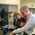 Zdjęcie przedstawia uczestników XVII Zjazdu SocjologicznegoZdjęcie przedstawia uczestników zebrania Sekcji